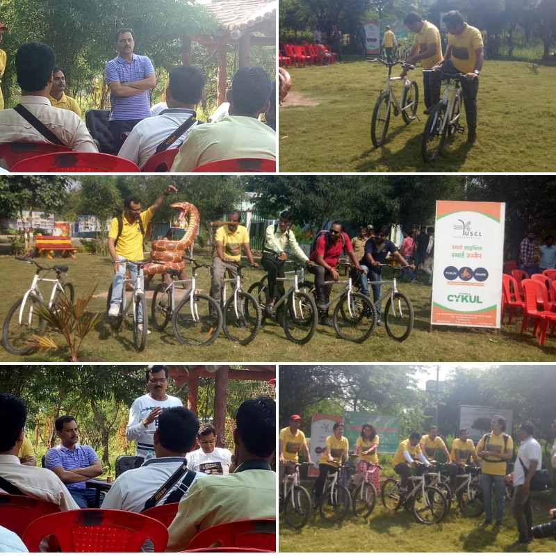 Public Bike Sharing Event in Echo Tourism Park